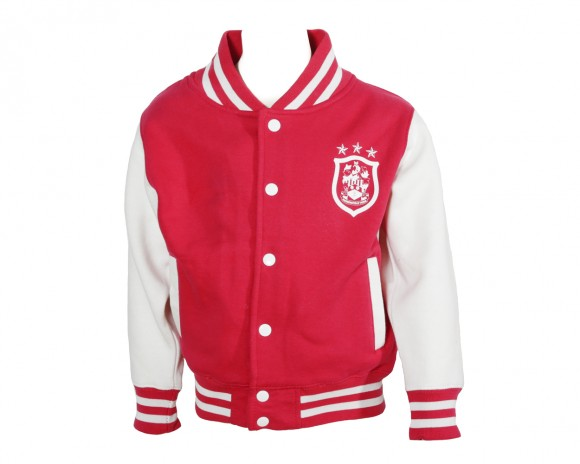Childrens Pink College Jacket
