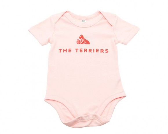 The Terriers Baby Pink Vest