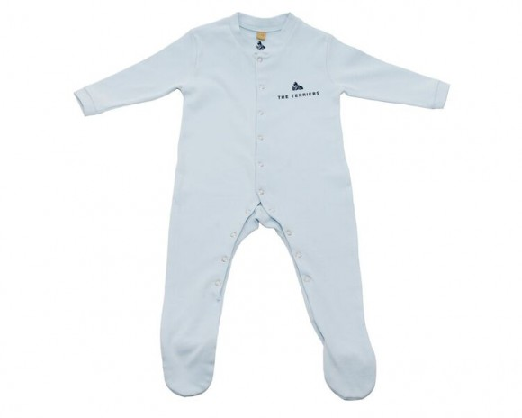 The Terriers Baby Blue Bodysuit