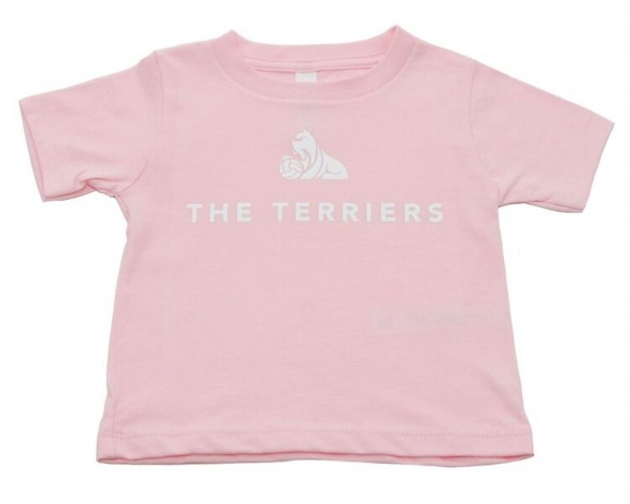 The Terriers Baby Pink TShirt