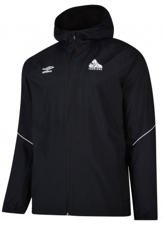 Umbro Adult Black Shower Jacket
