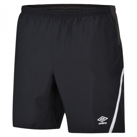 Umbro Adult Black Woven Shorts