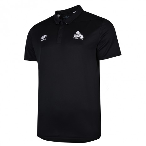 Umbro Child  Black Training Polo