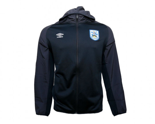 Umbro Adult Black Hooded Jacket