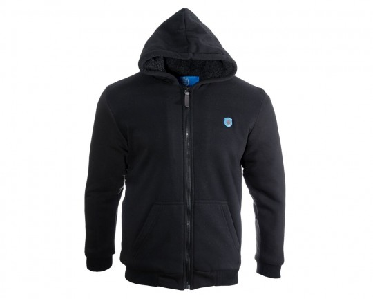 Pitch Zone Black Zip Hoody