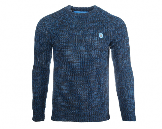 Pitch Max Blue Knitted Jumper
