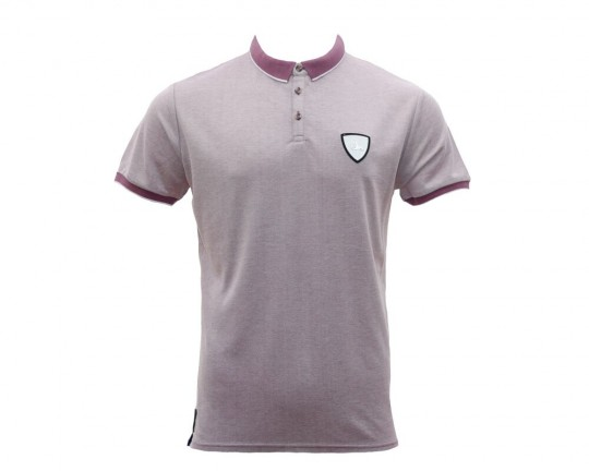 Pitch Malton Light Plum Polo Shirt