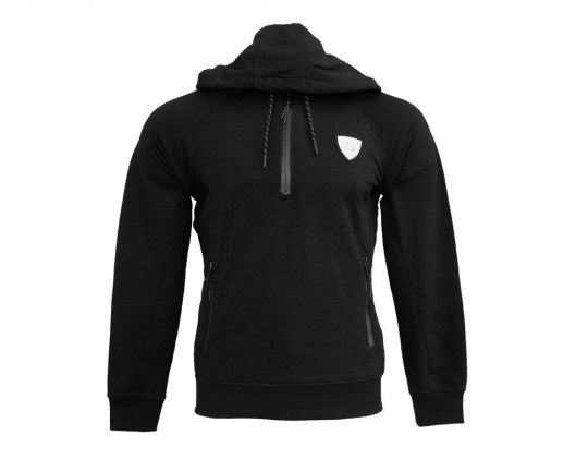 Pitch Kabe Black 1/2 Zip Hoody