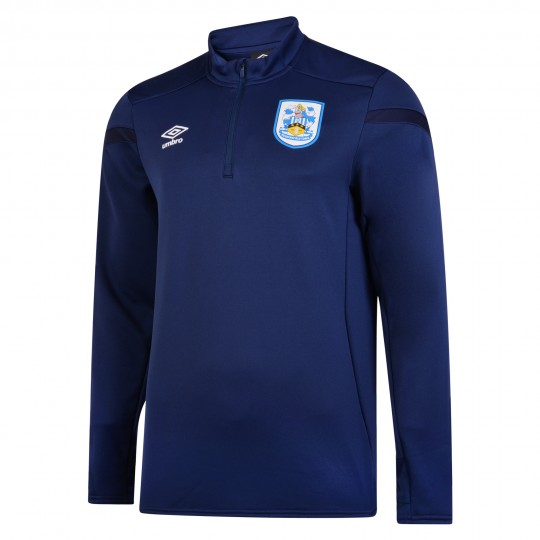 2019/20 Junior Half Zip Top - Medieval Blue