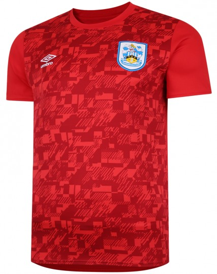 2020/21 Adult Warm Up Jersey - Red
