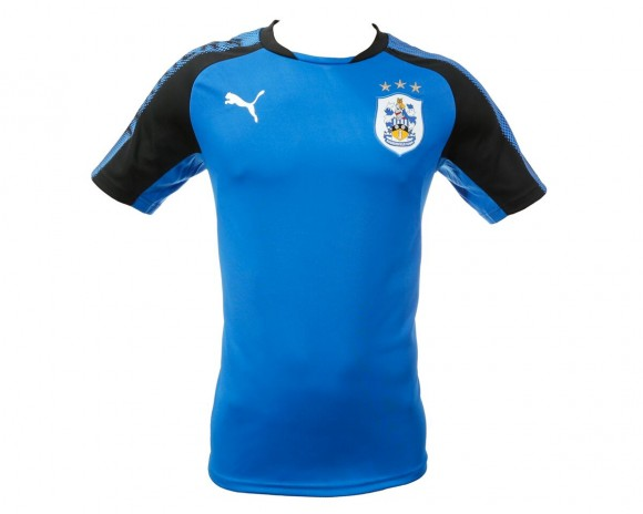 17/18 Junior Puma T-Shirt Royal