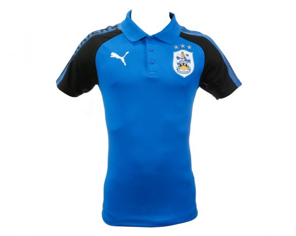 17/18 Junior Puma Polo Shirt Royal