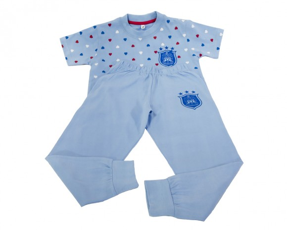 Ladies Luna Blue PJS