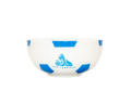 Football shape crest cereal bowl