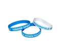 Terriers Blue and White Wristbands
