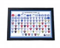 Huddersfield Town Shirts Through The Years Frame