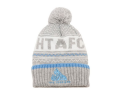 Light Grey Bobble Hat