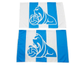 Terriers Stripe Pillow Cases