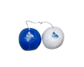 Blue & White Car Mini Footballs