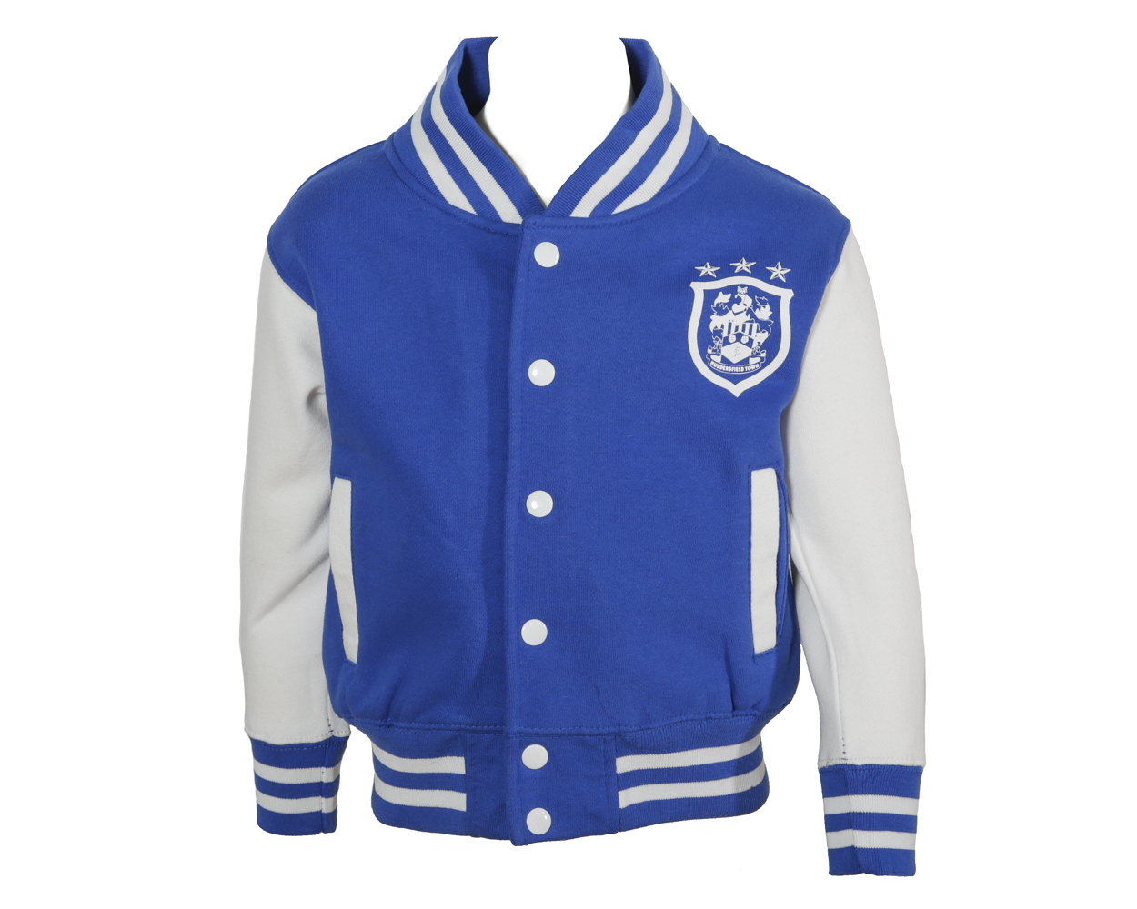 Childrens Blue College Jacket
