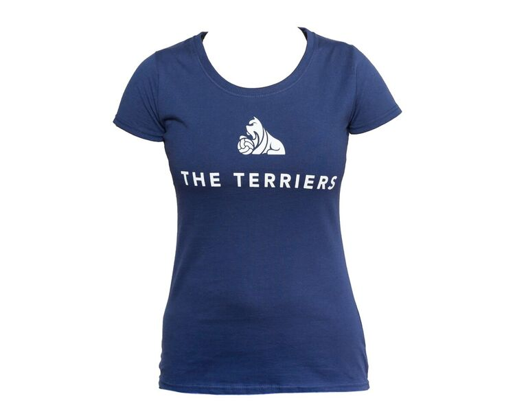 Ladies Navy Terrier TShirt