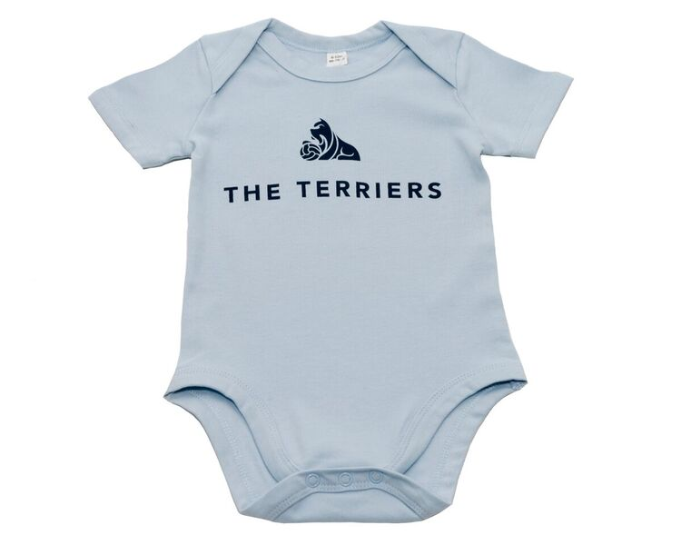 The Terriers Baby Blue Vest