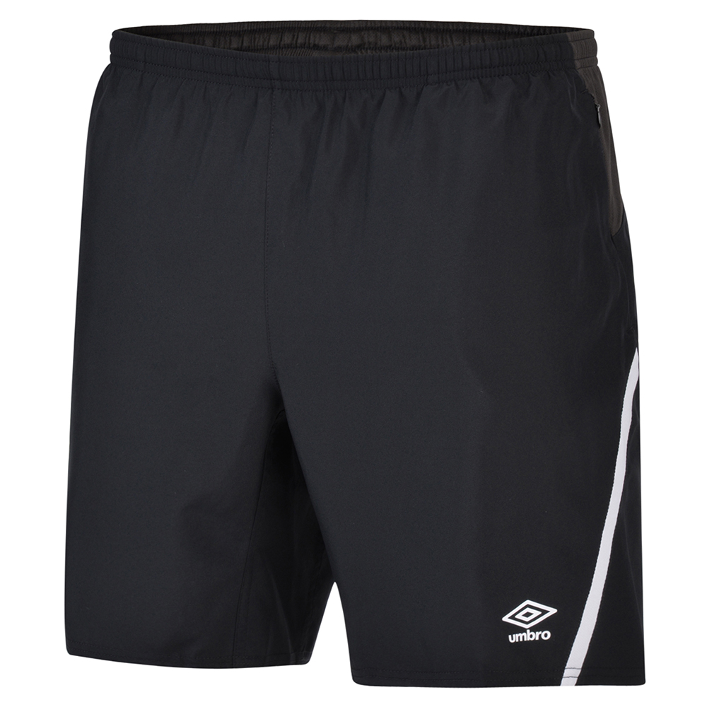 Umbro Child Black Woven Shorts