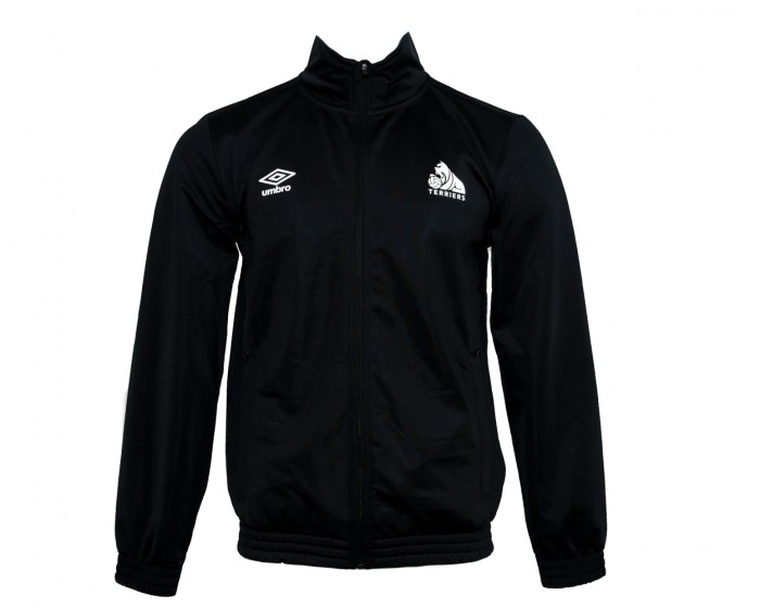 Umbro Response Black Tricot Full Zip Top