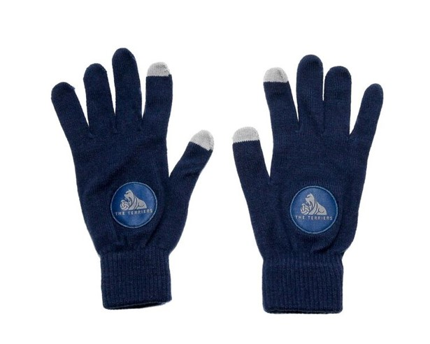 Terriers Navy Touch Screen Gloves