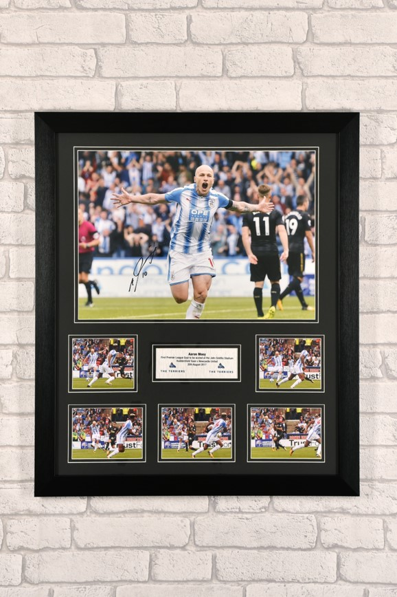 Signed, framed Aaron Mooy Print