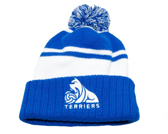 Child Umbro B/W Bobble Beanie