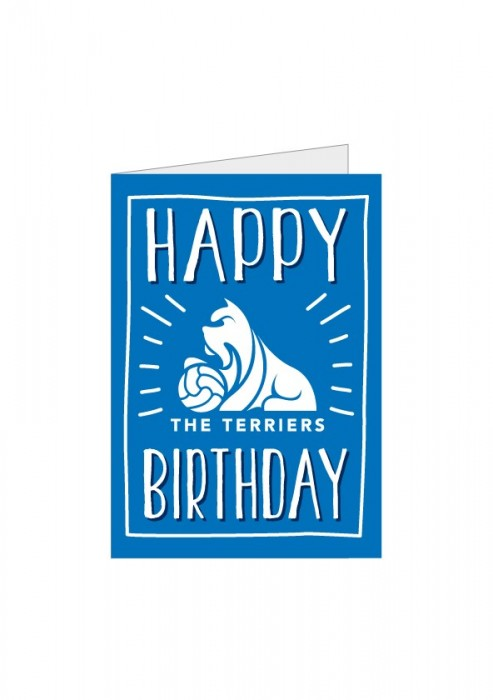 Happy Birthday The Terriers Card
