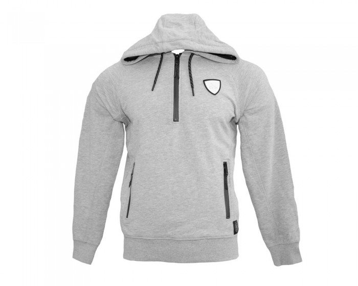 Pitch Kabe Grey 1/2 Zip Hoody