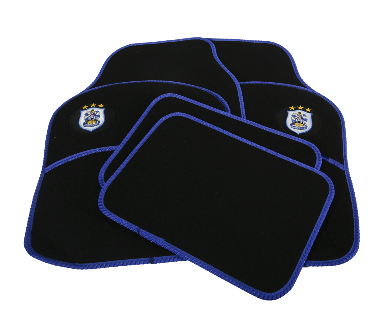Car Mats Double With Crest
