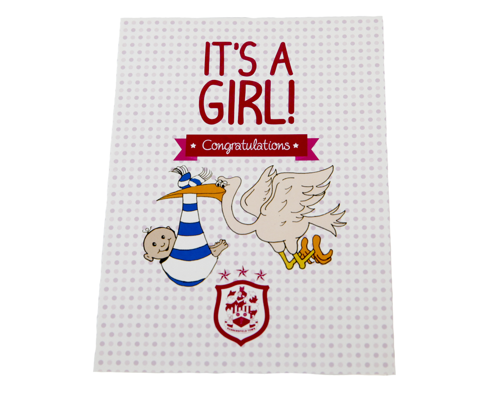HT Baby Girl Card
