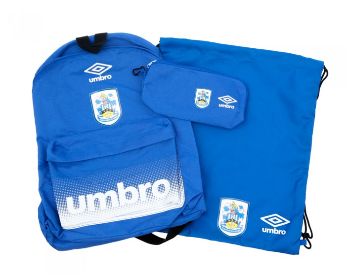 Crest Backpack, Gymsack & Pencil Case Set