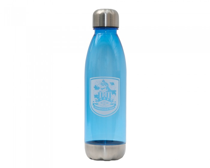 Crest Blue Water Bottle